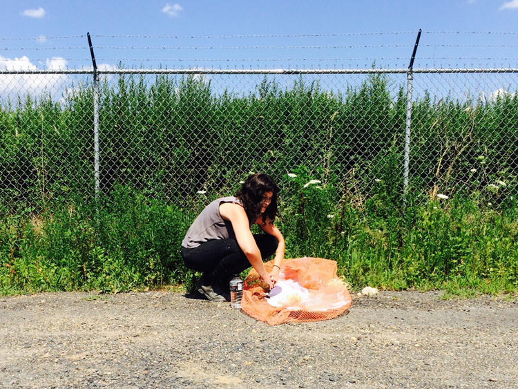 Lugo Land is pleased to announce that the recipient of The Lone Wolf Lugo Land Residency 2015-2016 is artist Kaitlin Kylie Pomerantz. Kaitlin is a visual artist based in Philadelphia whose work explores place, history, memory, time, and the relationship between humans and nature(s). Kaitlin will arrive in Lugo on December 18, and she will spend one month working on a project. -